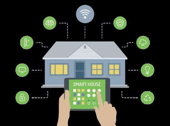 Smart house - ovládej svůj dům